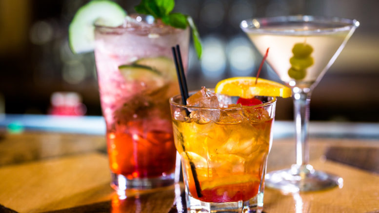 an image of different alcoholic beverages